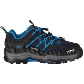 CMP Campagnolo Rigel Low WP Shoes Children blue/black